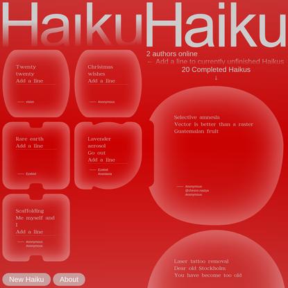 Haiku-Haiku