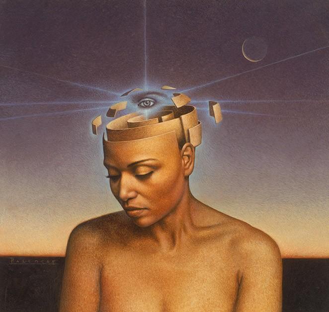 """For Octavia Butler's """"Mind of My Mind"""" - John Jude Palencar"""