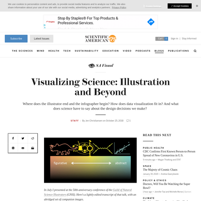 Visualizing Science: Illustration and Beyond