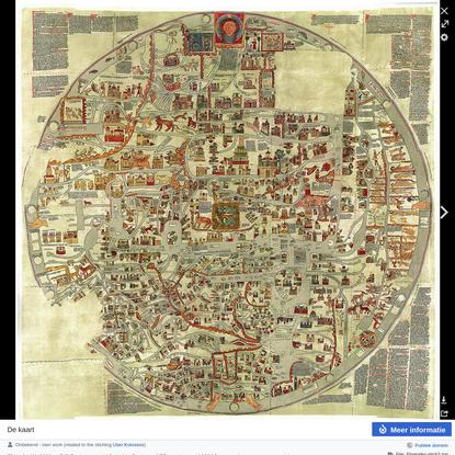 Mappa Mundi van Ebstorf