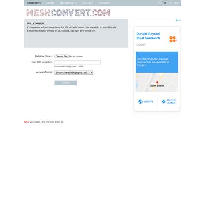 Online Mesh Konvertierer