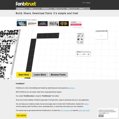 FontStruct | Build, Share, Download Fonts