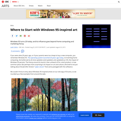 Where to Start with Windows 95-inspired art | CBC Arts