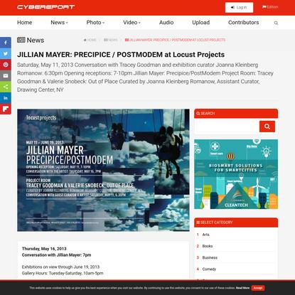 JILLIAN MAYER: PRECIPICE / POSTMODEM at Locust Projects
