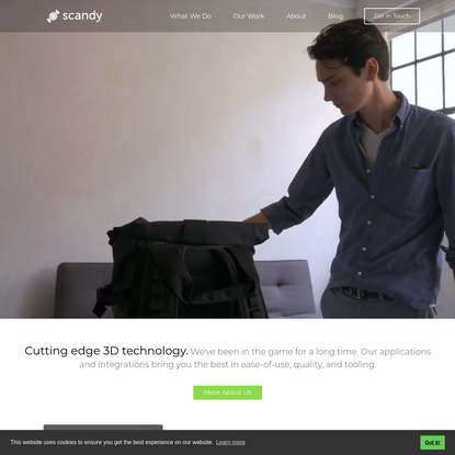 Scandy - 3D creation made easy