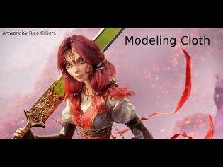 Modeling Cloth Blender 2 8