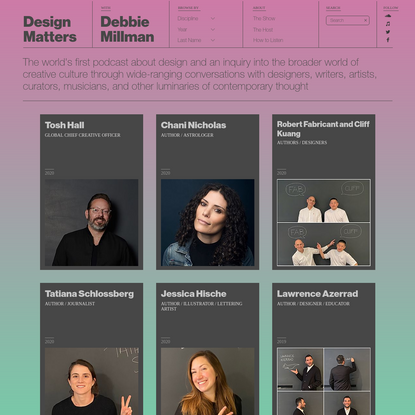 Debbie Millman   Design Matters