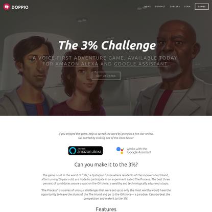 Netflix: The 3% challenge