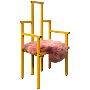 Peach Melba Chair
