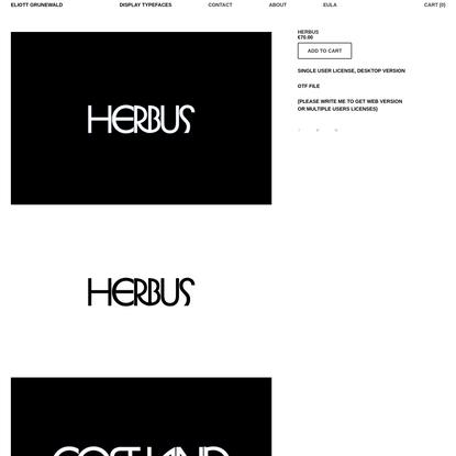 Herbus - Eliott Grunewald