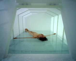 Carsten Höller's installation Psychotank, 1999