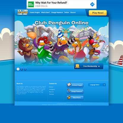 Club Penguin Online - The New Club Penguin