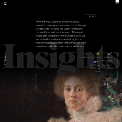 Fine Arts Museums of San Francisco - Upperquad Case Study