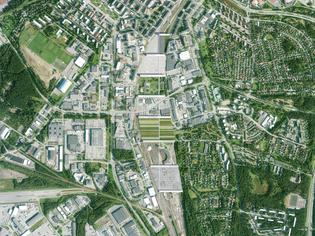 Oulu Rail Yard Masterplan, 2015