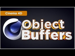 Cinema 4D Object Buffers - create Masks & Track Mattes for Photoshop & After Effects - C4D Tutorial