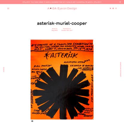 asterisk-muriel-cooper