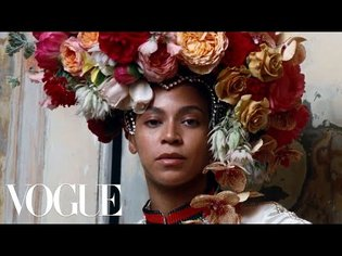 Beyoncé's September Issue Cover Shoot - Behind The Scenes | Vogue