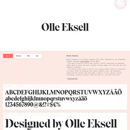 Eksell Display from Sweden