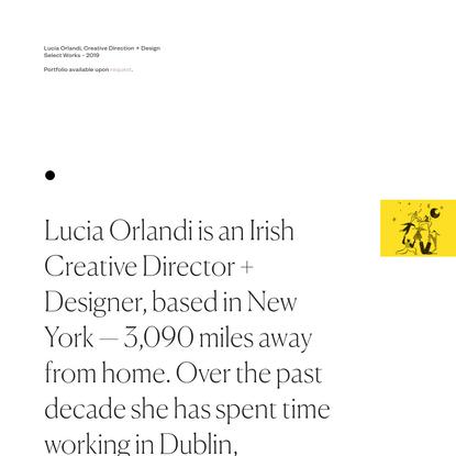 Lucia Orlandi - 2019
