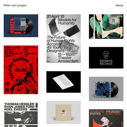 Peter van Langen Graphic Design