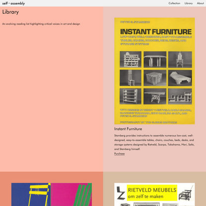 Library | Self-assembly