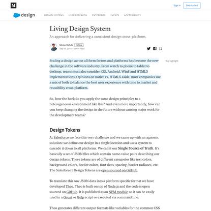 Living Design System