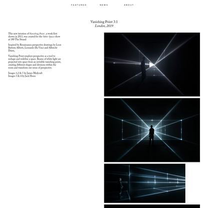 Vanishing Point 3:1 / United Visual Artists