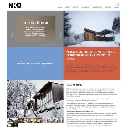 Nordic Artists' Centre Dale / Nordisk Kunstnarsenter Dale - Nordic Artists' Centre Dale / Nordisk Kunstnarsenter Dale