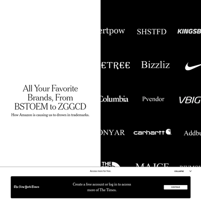 All Your Favorite Brands, From BSTOEM to ZGGCD