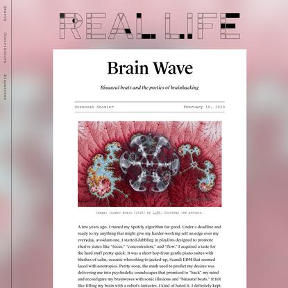 Brain Wave - Real Life