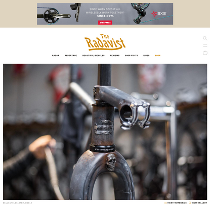 The Service Course x Belle Cycles: the A.T.E.R. / All Terrain Exploration Rig - Christian Meier