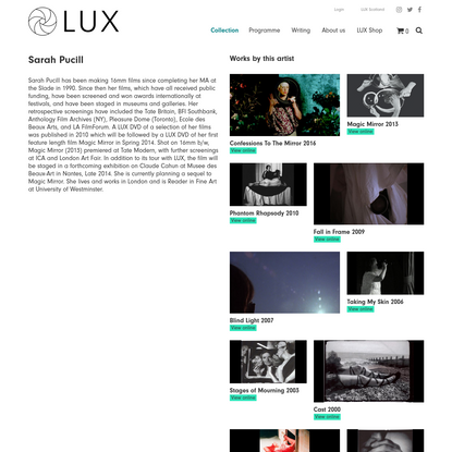 Sarah Pucill - LUX