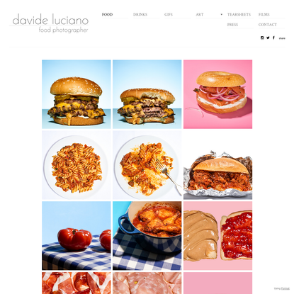 Davide Luciano -New York Food Photographer - Food Photography NYC - FOOD