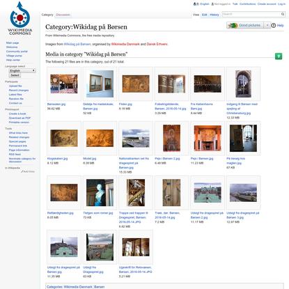Category:Wikidag på Børsen - Wikimedia Commons