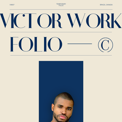 My name is Victor Costa, I am internationally Awarded Designer and Front End Developer, this is my portfolio website, where ...