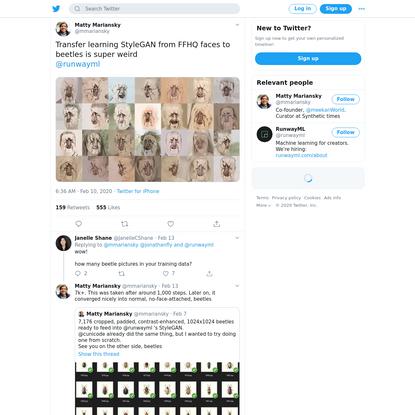 Matty Mariansky on Twitter