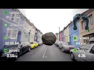 Sensoria Fitness and Race Yourself enable Augmented Reality with Smart Garments and Google Glass