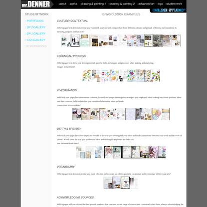IB Workbook Gallery