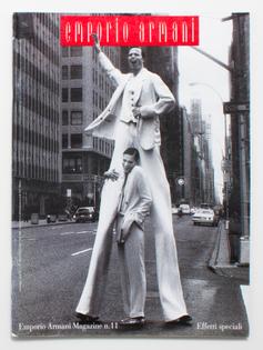 1994 | EMPORIO ARMANI MAGAZINE No.11 Effetti speciali March-August 1994