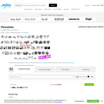 Fleuraloha   Webfont & Desktop font   MyFonts