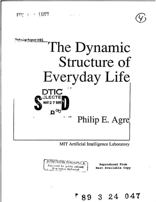 The Dynamic Structure of Everyday Life