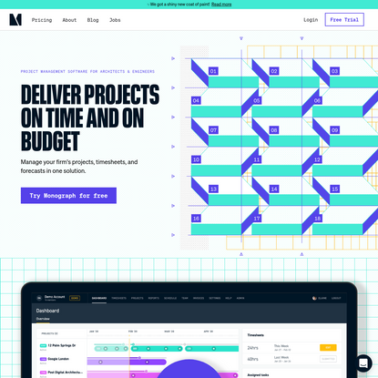 Project Management Software for Architects - Monograph