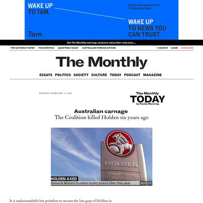 Australian carnage