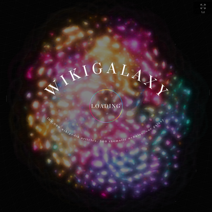WikiGalaxy: Explore Wikipedia in 3D