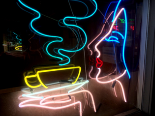 untitled (coffee neon)