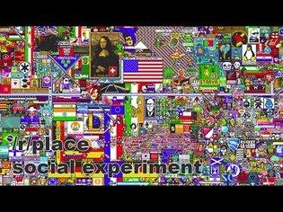 Reddit Place (/r/place) - FULL 72h (90fps) TIMELAPSE