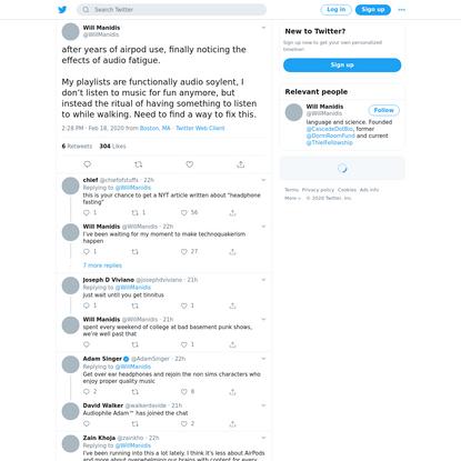 Will Manidis on Twitter