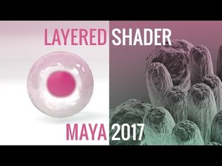 Layered Shader in Maya 2017 | Fresnel Effect with aiStandard Arnold Material