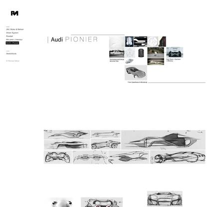 AUDI   Pionier - Portfolio   Roman Moor