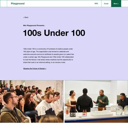100s Under 100